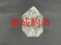 現品一点物!邪気を祓い運気を上げるレインボー水晶クリスタル六角中・67gの原石