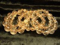 まとめ売り 金針水晶ゴールドルチルブレスレットセット 総重量319g
