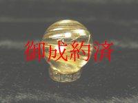 写真現品一粒売り タイチンルチル 金針水晶 14ミリ KYT52 ハンドメイド クォーツ 天然石パワーストーン 開運 最強金運